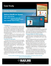 National Healthcare System Case Study