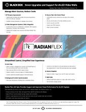 RadianFlex Software 7_0 Flyer