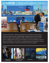 Retail and Hospitality Solutions Brochure