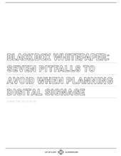 Seven Pitfalls to Avoid When Planning Digital Signage