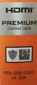 HDMI lable2