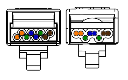 Typical Category 6 Wiring Layout