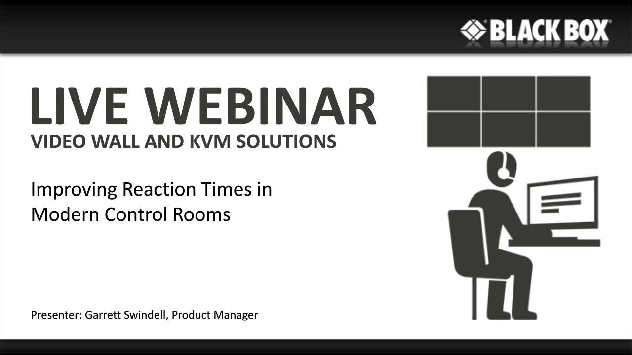 Improving Reaction Times in Modern Control Rooms