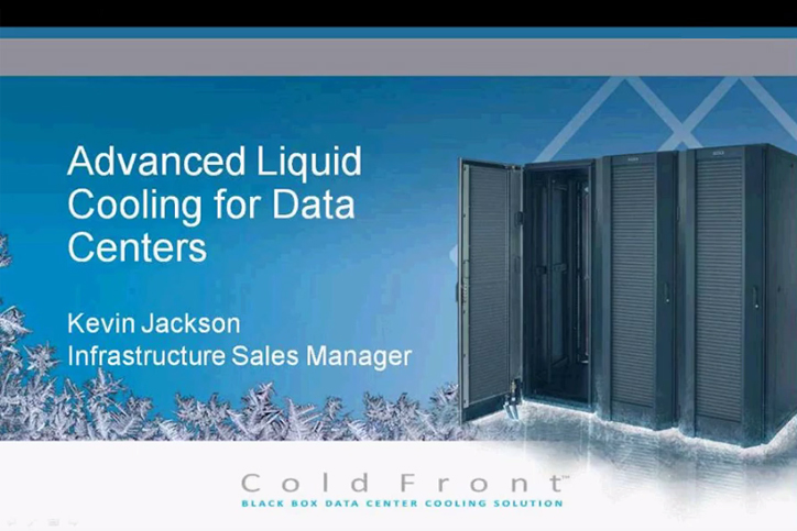 Advanced cooling for data centres